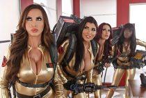ZZSeries - Nikki Benz, Monique Alexander, Romi Rain, Ana Foxxx - Ghostbusters XXX Parody: Part 4