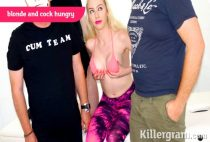 Killergram - Grace Harper - Blonde And Cock Hungry